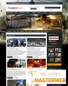 GamesFun - универсальный игровой шаблон для DLE